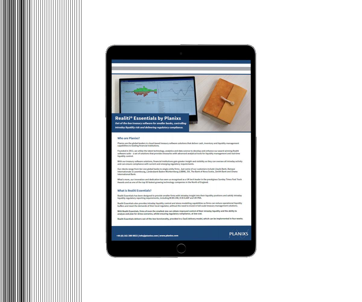 Realiti Essentials Overview Cover 1